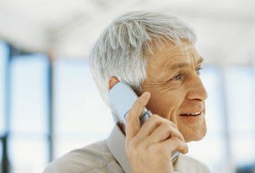Telefonseelsorge Mann am Telefon